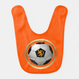 Netherlands Soccer Ball,Dutch Lion on Orange Bib