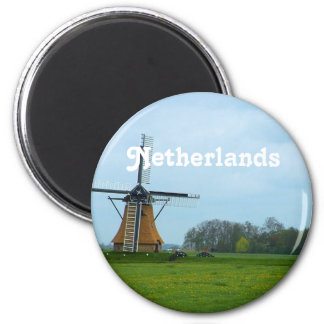 Netherlands Windmill Magnet