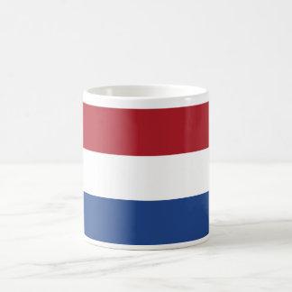 Netherlands World Flag Basic White Mug