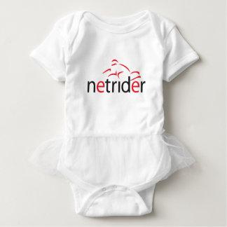 Netrider Logo Baby Bodysuit