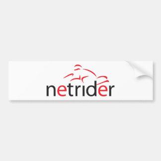 Netrider Logo Bumper Sticker