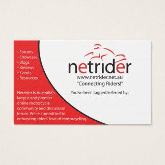 Netrider Tagging Card