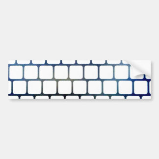 Netted Keys Bumper Sticker