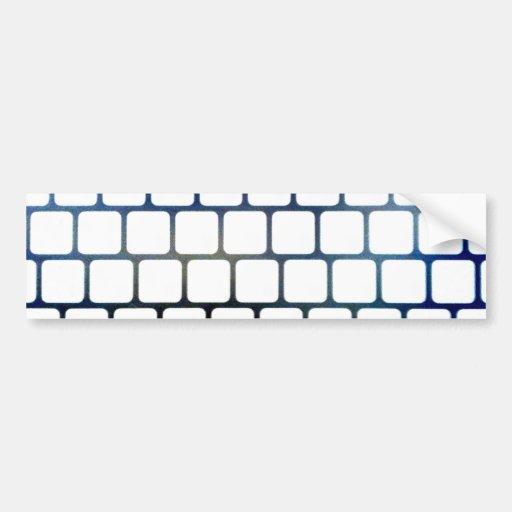 Netted Keys Bumper Stickers