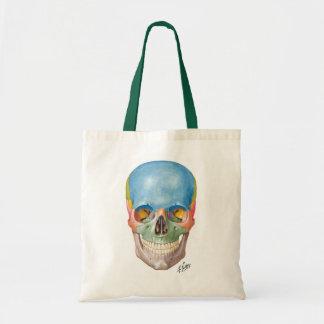 Netter Skull Shopping Tote Canvas Bags