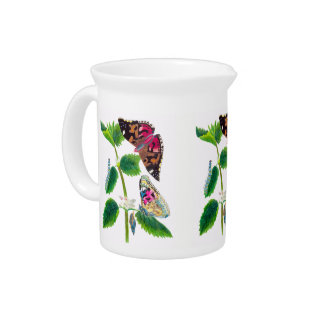 Nettle Butterfly Pitcher