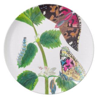 Nettle Butterfly Plate