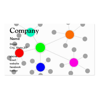 Network Business Card Templates