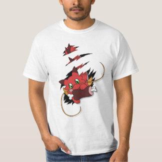 Network Dragoon eats meat T-Shirt