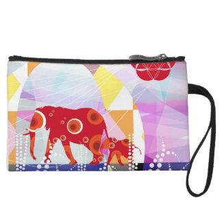 network elephant clutch wristlet purse