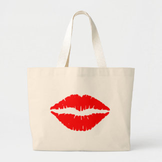 NETWORK LIPS LARGE TOTE BAG