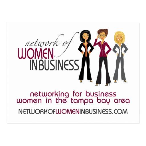 Network of Women in Business Postcard