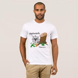 Network operator T-shirt