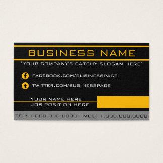 Network Orange Business Card