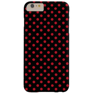 Network polka dots in black barely there iPhone 6 plus case