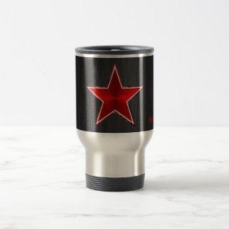 Network star stainless steel travel mug
