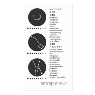 networking card pack of standard business cards