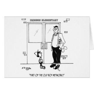 Networking Cartoon 3011 Card