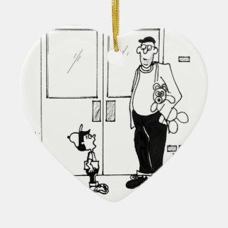 Networking Cartoon 3011 Ceramic Ornament