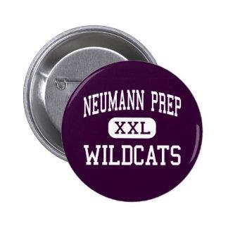Neumann Prep - Wildcats - High - Wayne New Jersey Button