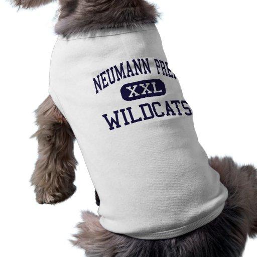 Neumann Prep - Wildcats - High - Wayne New Jersey Dog Tshirt