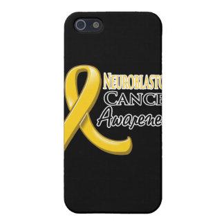Neuroblastoma Cancer Awareness Ribbon iPhone 5 Case