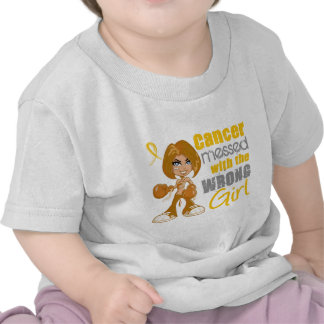 Neuroblastoma Messed With Wrong Girl.png T-shirts