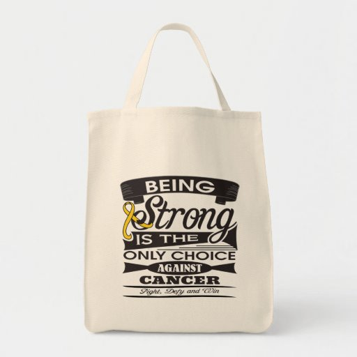 Neuroblastoma Strong is The Only Choice Tote Bag