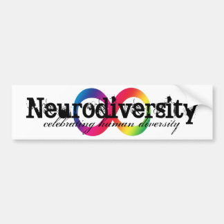 Neurodiversity bumper sticker
