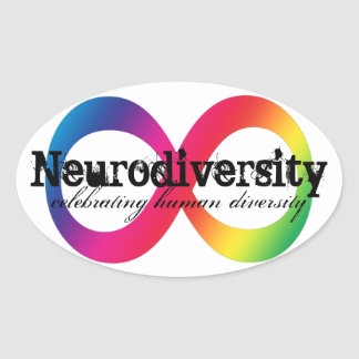 Neurodiversity Oval Sticker