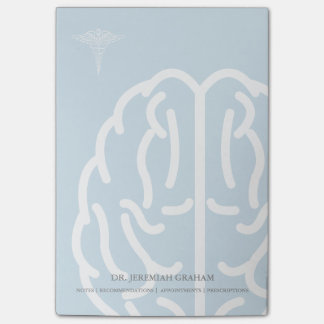 Neurologist | Psychiatrist Personalized Name Post-it Notes
