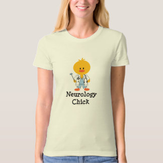 Neurology Chick Organic Tee Shirt