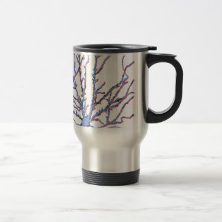 Neuron-Blue/Red Shadow Travel Mug