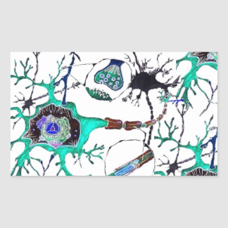 Neuron! Rectangular Sticker