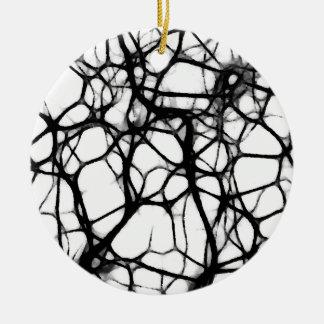 Neuronal Web 1 Ceramic Ornament
