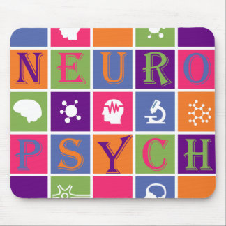 Neuropsychology - Gifts for Neuropsychologists Mouse Pad