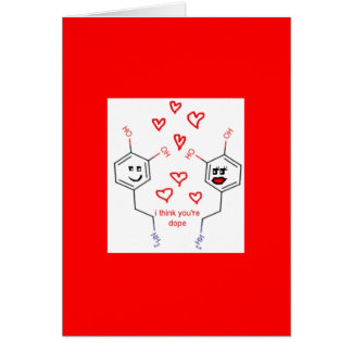 Neuroscience Valentine's Day Card