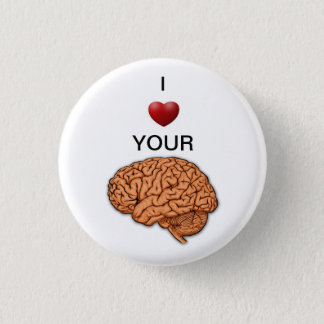 neurosurgery 3 cm round badge