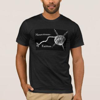 Neurotrans-Knitter Men T-Shirt