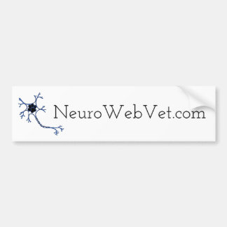 NeuroWebVet Bumper Sticker