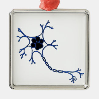 NeuroWebVet Metal Ornament