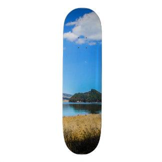 Neusa, Colombia (Blue Sky 2.0) Skateboard Deck