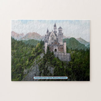 Neuschwanstein Castle, Bavaria, Germany Jigsaw Puzzle