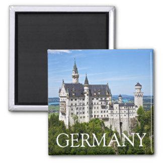 Neuschwanstein Castle, Bavaria, Germany Magnet