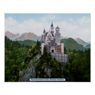 Neuschwanstein Castle, Bavaria, Germany Poster