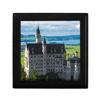 Neuschwanstein Castle - Bavaria - Germany Small Square Gift Box