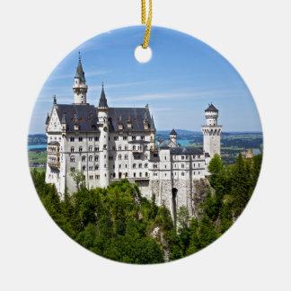 Neuschwanstein Castle Ceramic Ornament