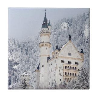 Neuschwanstein Castle Ceramic Tile
