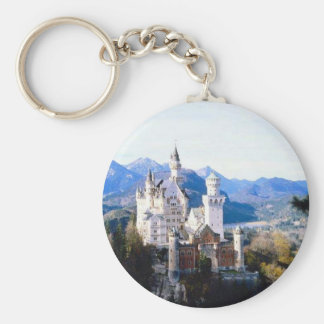 Neuschwanstein Castle Germany Key Ring