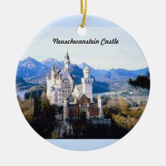 Neuschwanstein Castle Germany  Ornament